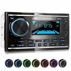 AUTORADIO-MIT-BLUETOOTH-FREISPRECHEINRICHTUNG-RDS-MP3-USB-AUX-IN-DOPPEL-2DIN