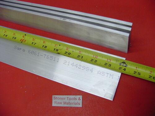 4 Pieces 1/2 X 3-1/2 ALUMINUM 6061 FLAT BAR 24 long T6 .500 Solid Mill Stock