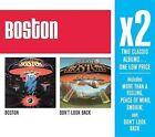 Boston/Don't Look Back [Box] by Boston (CD, Feb-2008, 2 Discs, Epic/Legacy)