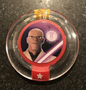 Disney Infinity 3.0 Star Wars Galactic Team Up Mace Windu Ability Power Disc