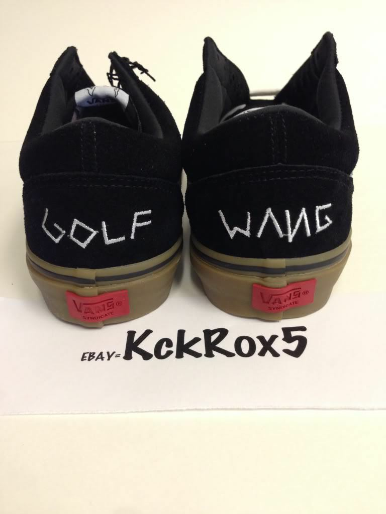 7727571a69 ... VANS OLD SKOOL PRO S SYNDICATE SYNDICATE SYNDICATE ODD FUTURE BLACK GUM  GOLF WANG TYLER DONUT ...