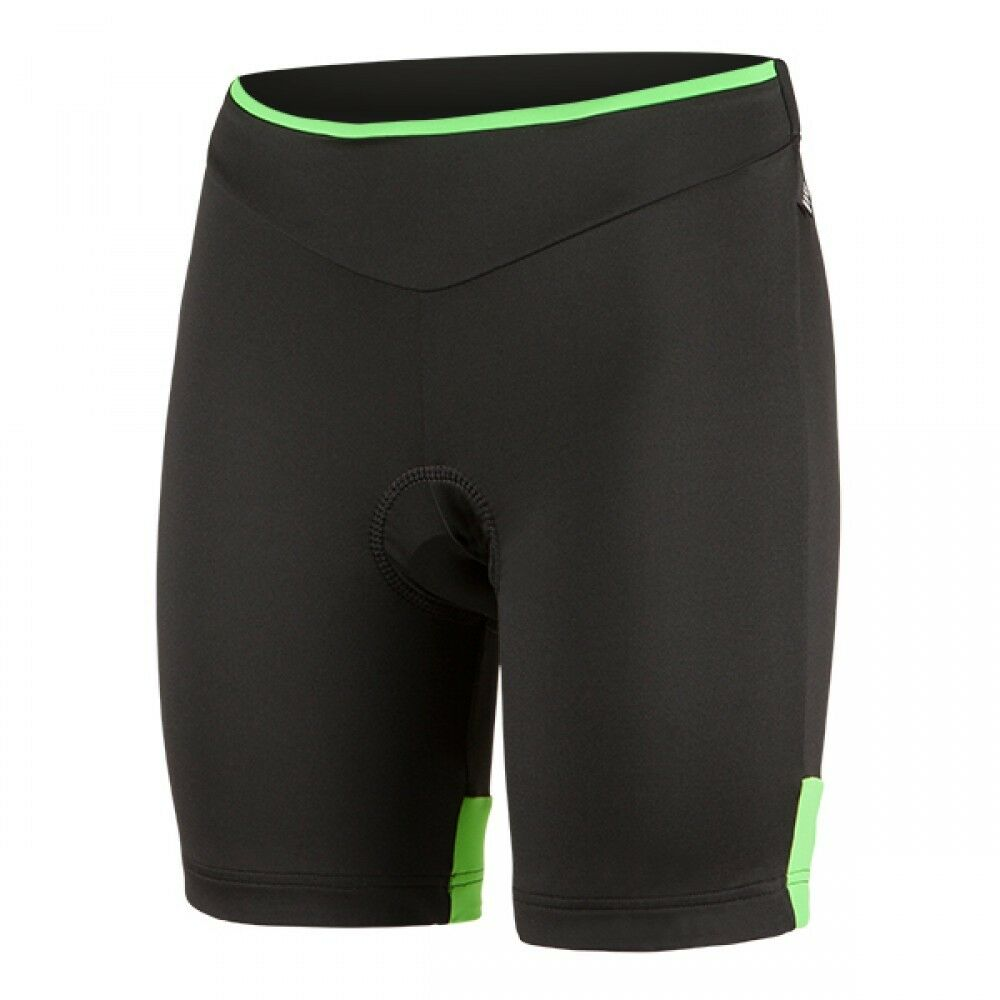 Shorts Nalini Nalini Volle  Flexibilität Lady Shorts black green GRÖSSE M  fashion brands