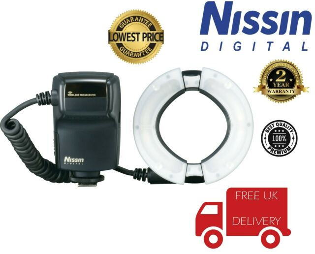 Nissin MF18 Macro Flash pour Canon NFG008C (UK stock)