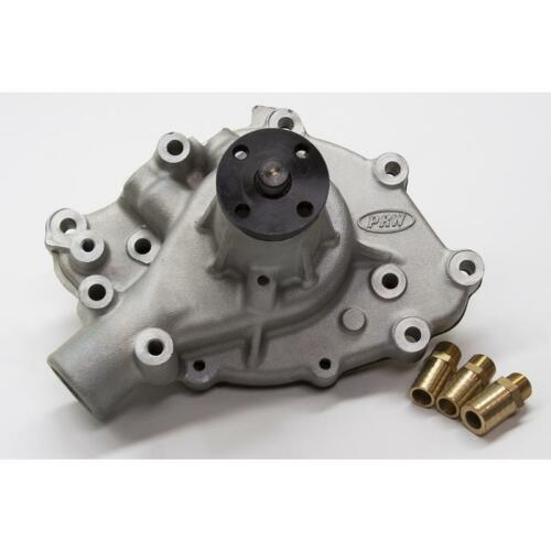 PRW Water Pump 1428900; High Performance Satin Aluminum Mechanical for Ford 289