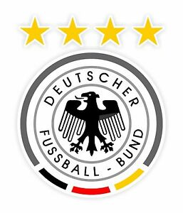 Germany Soccer DEUTSCHER FUSSBAL BOUND Decal / Sticker Die ...