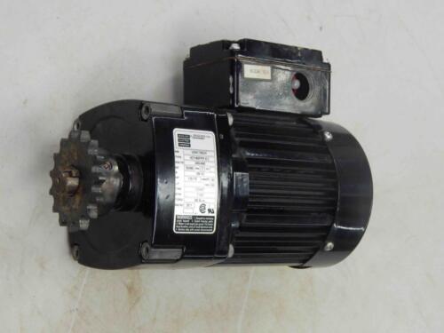 #249 Bodine 42Y4BFPP-E3 380//460V HP 1//81//6 Ratio 20:1 RPM 71//87 Gearmotor