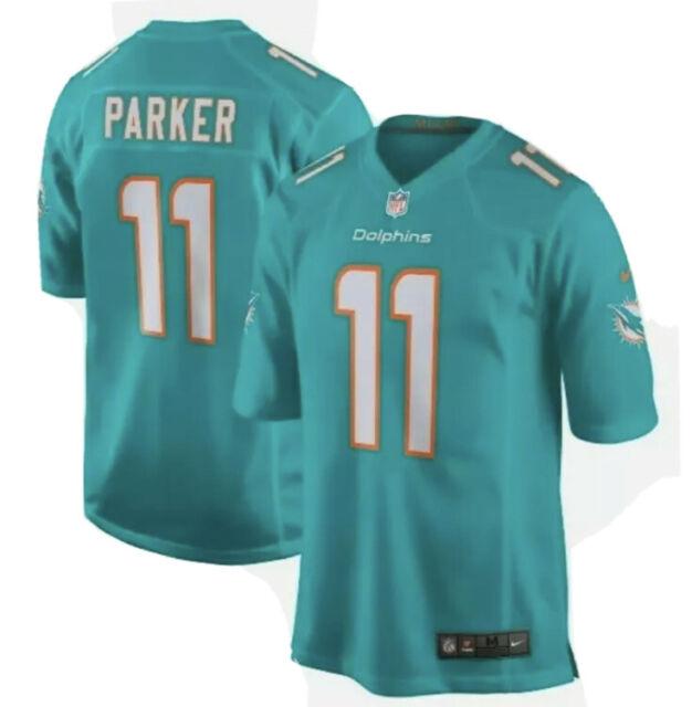 Nike Men Miami Dolphins DeVante Parker Official NFL Player Stitched Jersey Sz XL