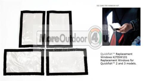 ESKIMO NEW Ice Shelter Windows Replacement Window Quickfish 2 3 6 Quickflip 2 3