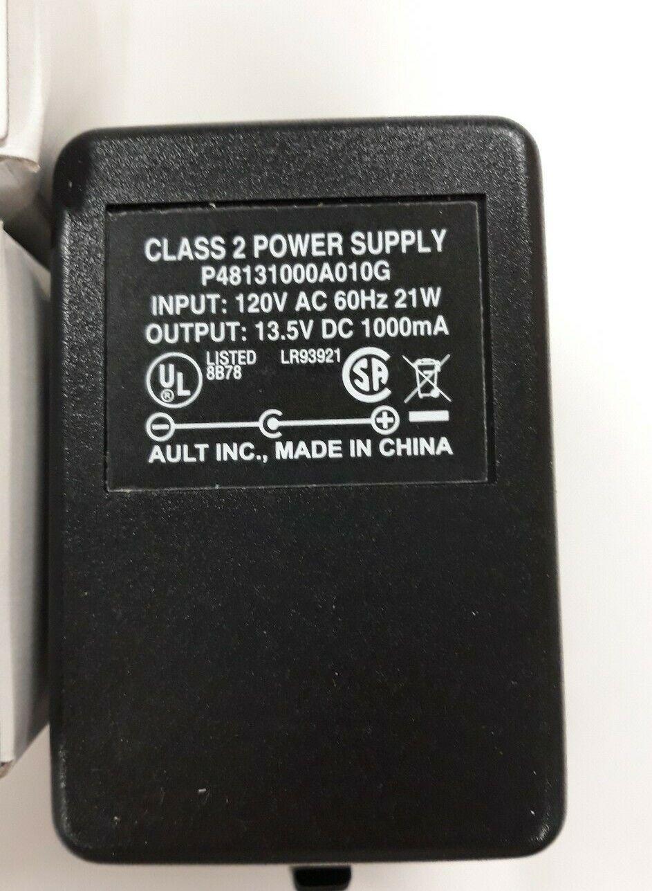 Class 2 Power Supply P48131000A010G 120v AC Output:13.5V DC