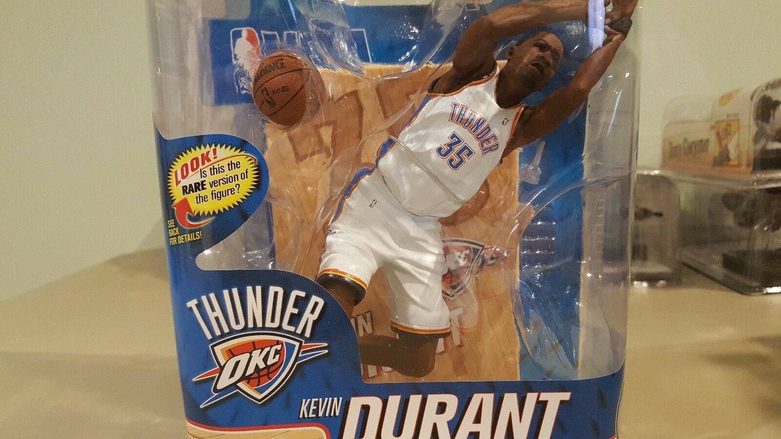 MCFARLANE'S NBA SERIES 20 KEVIN KEVIN KEVIN DURANT COLLECTOR LEVEL OF 1000 70c838