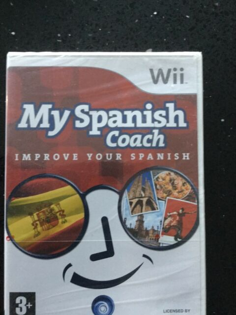 My Spanish Coach (Nintendo Wii Game New And Sealed PAL