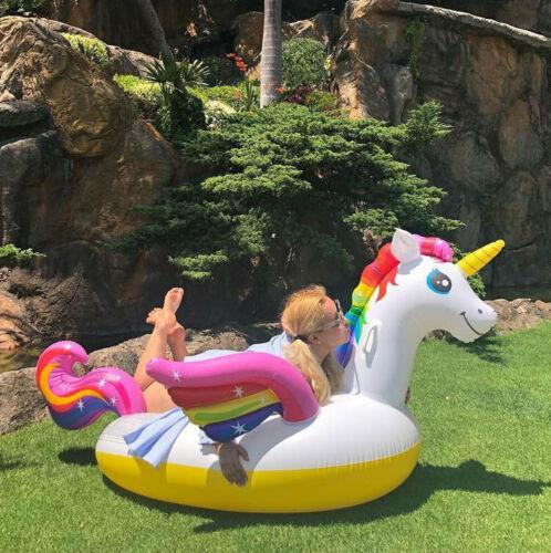 Schwimm Ring Sitz Boot Pool Kinder Erwachsene Strand Spielzeug Sommer Spaß Spiel