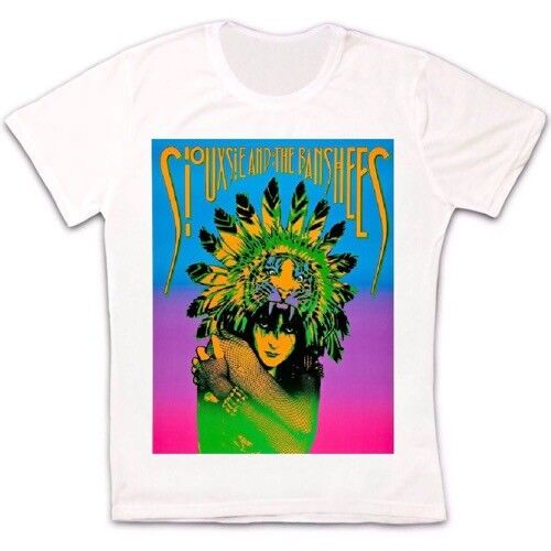 Siouxsie And The Banshees 80s Post Punk Retro Vintage Hipster Unisex T Shirt 34