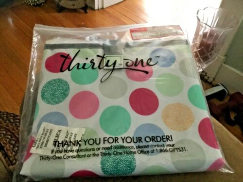 OUT /& ABOUT Changing Pad Thirty One POLKA DOT POP