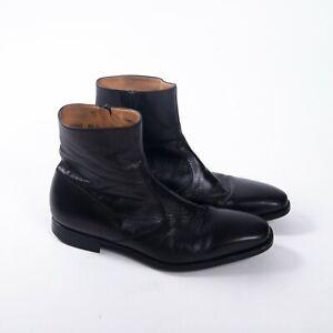 auténtico auténtico gran venta de liquidación precio de calle Magnanni Donosti Black Leather Chelsea Boots US 8.5 D | eBay