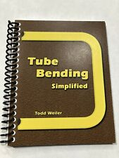 Tube And Pipe Bending Simplified Instruction Manual,  Book,  Booklet