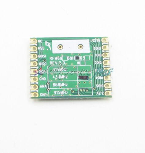 RFM69HW-433S2 Remote//HM 5PCS RFM69HW 433Mhz+RFM12B HopeRF Wireless Transceiver