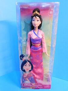 Disney-Princess-Doll-Sparkling-Princess-Mulan-Doll-New