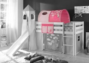 Prinzessinnen Etagenbett : Tunnel prinzessin pink für spielbett hochbett etagenbett tasche