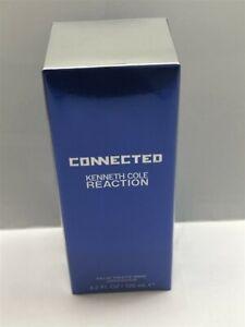 Connected-Kenneth-Cole-Reaction-4-2-oz-125-ml-Eau-de-Toilete-Spray-Men-Sealed