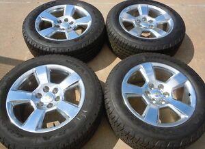 2014 Silverado 1500 Tahoe Ltz 20 Quot Factory Oem Wheels Tires