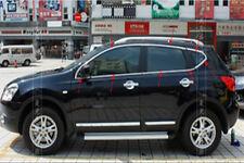 Full window frame sill Trim 16pcs For Nissan Qashqai Dualis 2007-2013