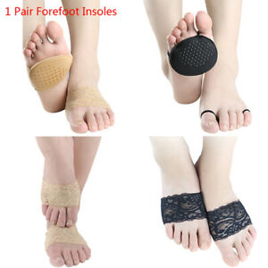 2pcs Shoe Pads Forefoot Cushion Silicone Massage Non Slip High Heels Insole Pain