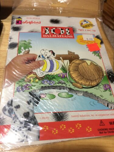 Brand New Vintage Disney 101 Dalmatians Colorforms by SunHill Item #C934 RARE!!