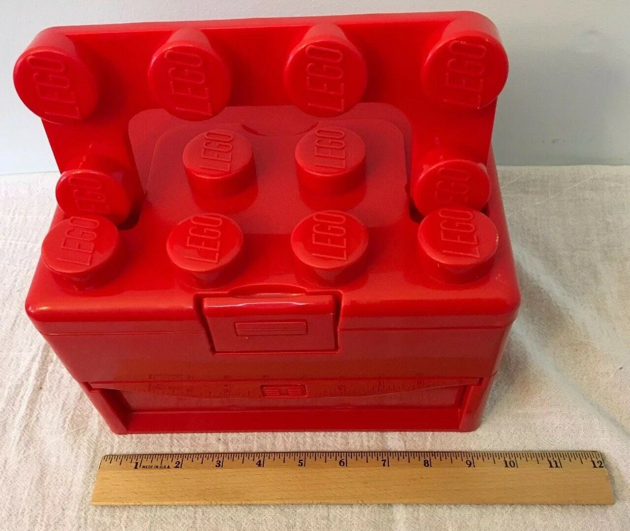 Lego Red Storage Case, Tool Tool Tool Box (retired) 8f47b1