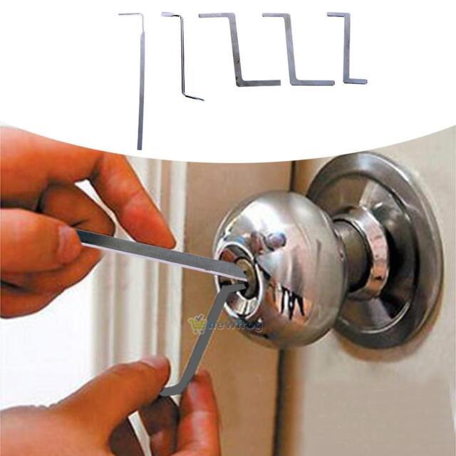 18-IN-1 Metal Toolsl Lock Picks Set Unlocking Locksmith Training Tools w// Bag