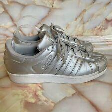 Size 7 - adidas Superstar Silver Metallic for sale online | eBay