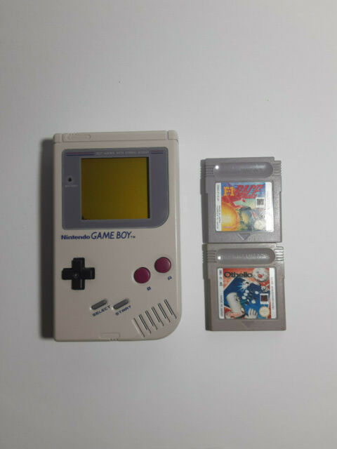 Nintendo Game Boy Classic mit 2 Spielen Konsole - Grau (DMG-01)