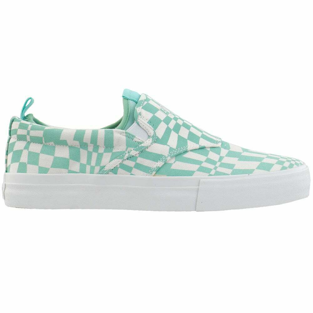 Diamond Supply Co. Boo J Xl Checkered Slip On Mens Sneakers Shoes Casual -
