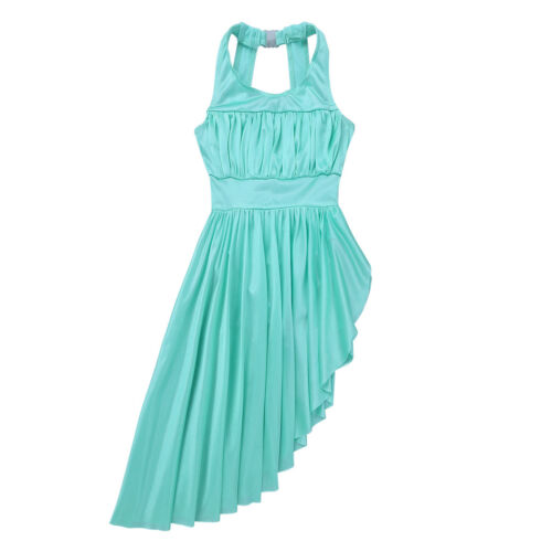 UK Girl Child Ballet Dress Leotard Ballerina Lyrical Latin Dance Wear Tutu Skirt