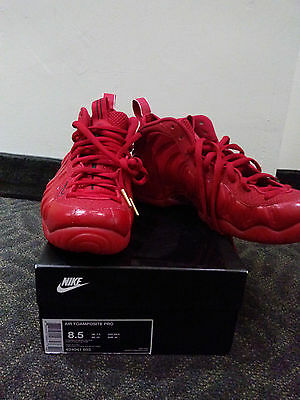 Nike Air Foamposite One Pro Gym Triple Red October Black Yeezy DS Mens Size 8.5   eBay