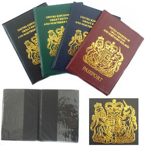 UK-Passport-Holder-Cover-Protection-CLEAR-PKT-Slim-Cover-Protector-Travel-Cases