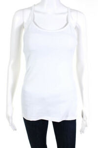 Lululemon-womens-Scoop-Neck-Racerback-Athletic-Tank-Top-White-Size-8