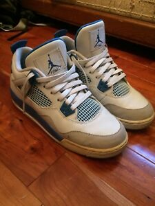 2e215d456685 Image is loading NIKE-AIR-JORDAN-4-RETRO-IV-034-MILITARY-