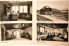 """18397 AK Kinderfreudeheim """"Anton Falla"""" Drobollach Innenansichten See um 1959"""