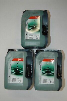 8055 Stihl Hp Super Zweitaktmotorenöl Mischöl Zweitaktöl 3x 5l Kanister Verbraucher Zuerst
