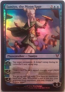 Tamiyo-le-Sage-de-la-Lune-PREMIUM-FOIL-VO-The-Moon-Sage-Mtg-magic