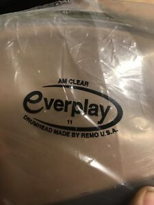 Remo-Everplay-Clear-Ambassador-Drum-Heads-Like-Modern-Remo-Ambassador