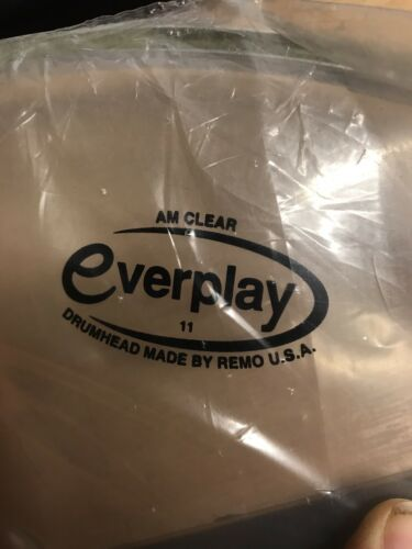 Like Modern Remo Ambassador Remo Everplay Clear Ambassador Drum Heads