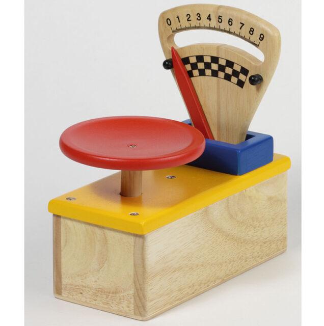 Kaufläden & Zubehör Small Foot Design Kinderwaage Balkenwaage aus Holz Zubehör für Kaufladen