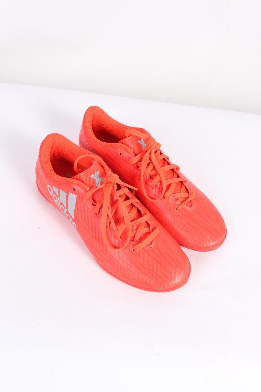 Vintage Adidas X16.4 Three MEN Stripes Low Tops Casual MEN Three Shoes 90s Red - S489 7b4cc2