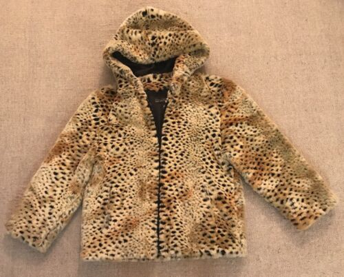 Tiger Hooded Salyers e3 Furs Pattern lynlås S Jacket Sz Coat Fabulous Fur Donna gYvAY