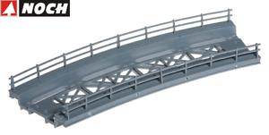 Noch-H0-21350-Bridge-Road-Courbe-Rayon-360-mm-Neuf-Emballage-D-039-Origine