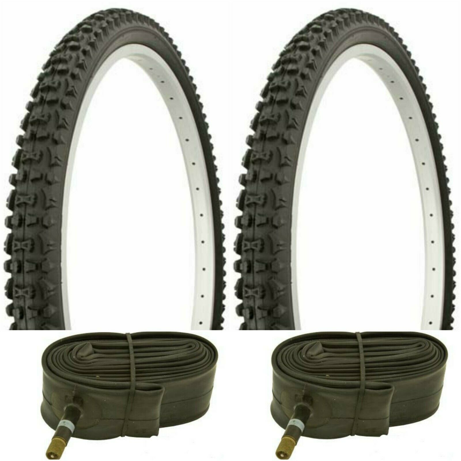 "DURO 26/"" x 2.10/"" BICYCLE TIRE MTB BIKE BLACK"