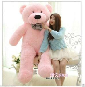 Hot-Huge-Large-Teddy-Bear-Plush-Stuffed-Soft-Big-Doll-Toy-Personalised-Xmas-Gift