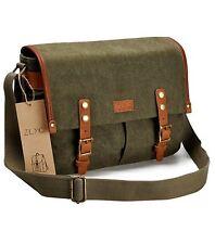 Waterproof Vintage Canvas Camera Bag Messenger Bag for DSLR Camera and Lens (Arm